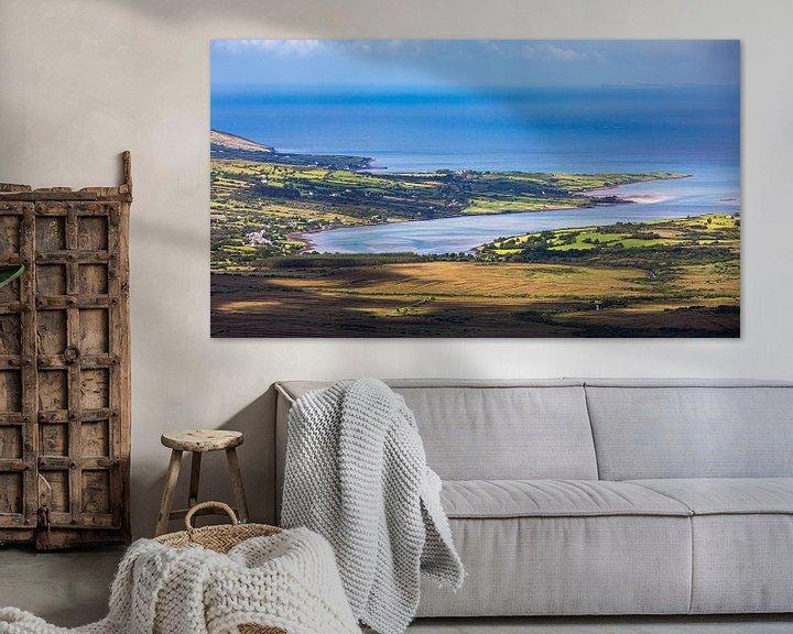 Sfeerimpressie: Uitzicht vanaf de Conor Pass, Ierland van Henk Meijer Photography