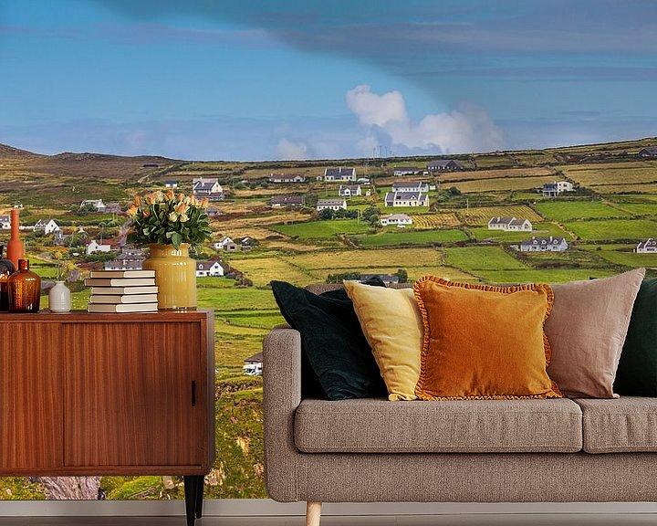 Sfeerimpressie behang: Het schiereiland Dingle in Ierland van Henk Meijer Photography