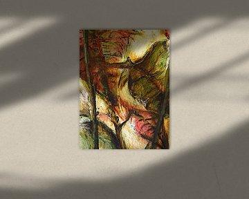Poinsettia na de bloei van Anita Snik-Broeken