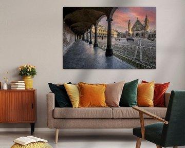 Binnenhof Den Haag von Digitale Schilderijen