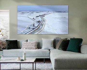 Winter in Holland van Peter Korevaar