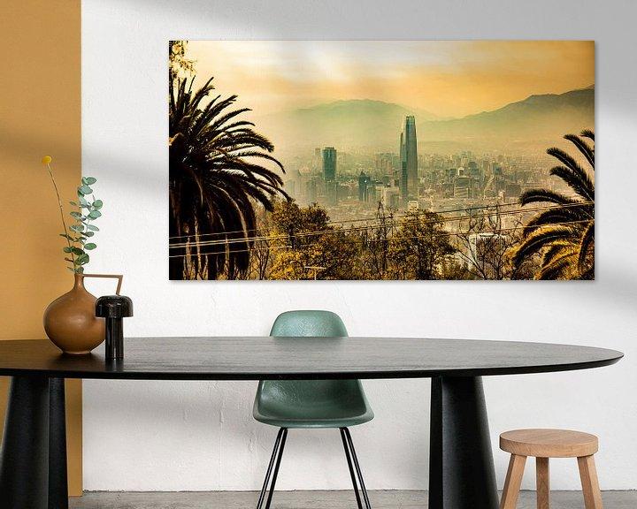 Beispiel: Santiago (Santiago, Chile) von Michel van Rossum