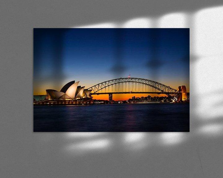Sfeerimpressie: Opera House (Sydney, Australia) van Michel van Rossum