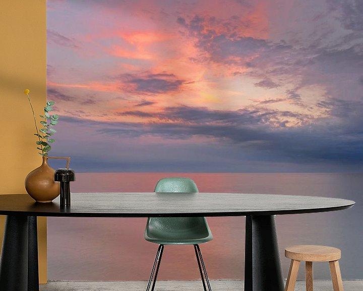 Beispiel fototapete: Sonnenuntergang über der Ostsee von Katrin May
