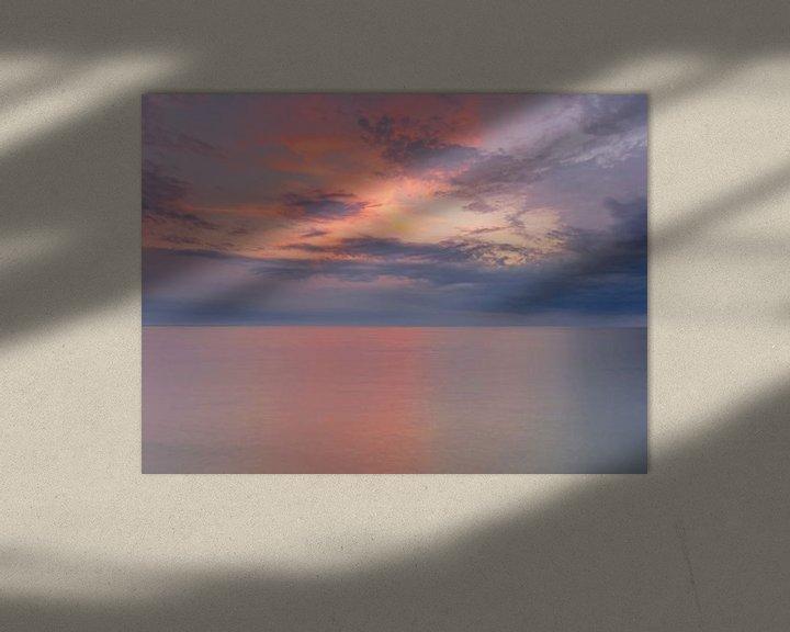 Beispiel: Sonnenuntergang über der Ostsee von Katrin May