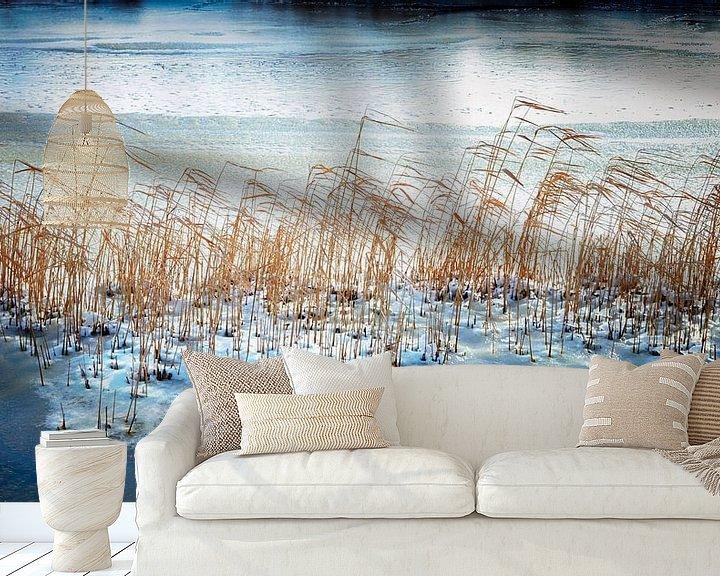 Sfeerimpressie behang: Koude voeten van Jan van der Knaap
