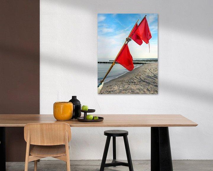 Beispiel: Am Strand von Ahrenshoop von Katrin May
