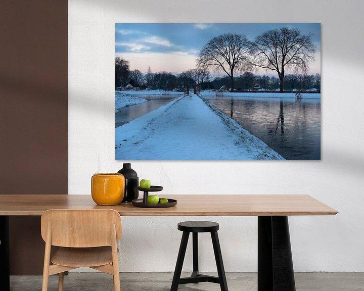 Sfeerimpressie: Winter in Moerenburg van Freddie de Roeck