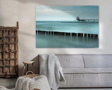 Seebrücke von Zingst von Katrin May