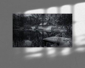 Le bassin à poissons d'Uden Le Kleuter sur HvNunenfoto