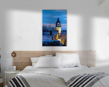 De kerktoren van Herleshausen van Roland Brack
