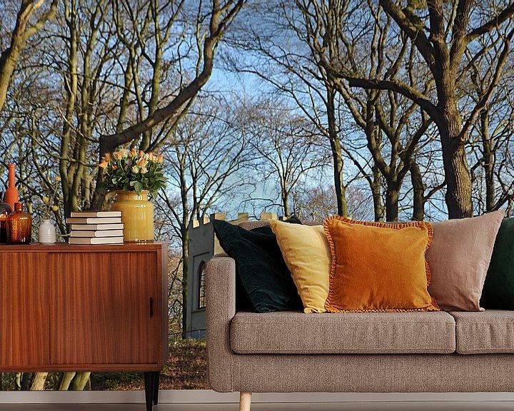Beispiel fototapete: Belvedere am Buitenplaats Leyduin in Vogelenzang von JTravel