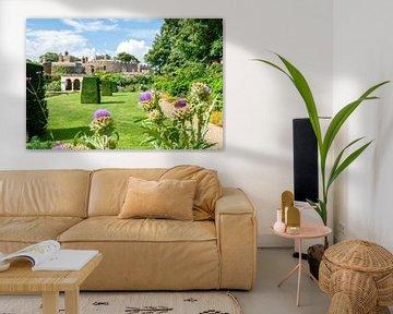 Garten von Schloss Walmer von Studio Bosgra