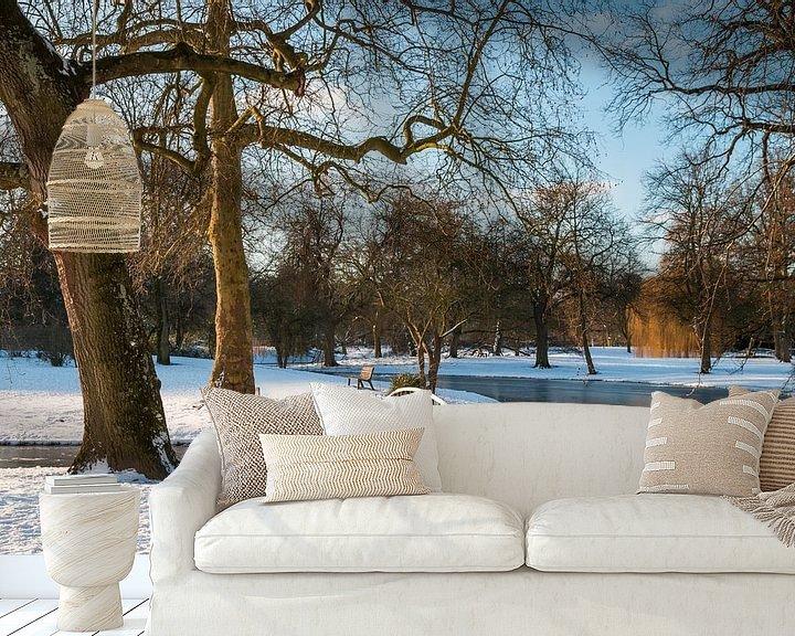 Sfeerimpressie behang: Winter 1 van Nuance Beeld