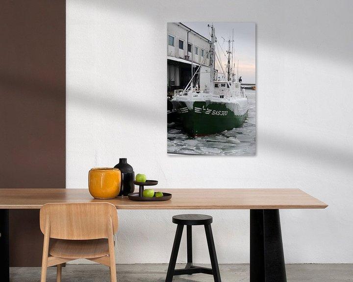 Sfeerimpressie: IJsboot in de haven van Sassnitz van Alphapics