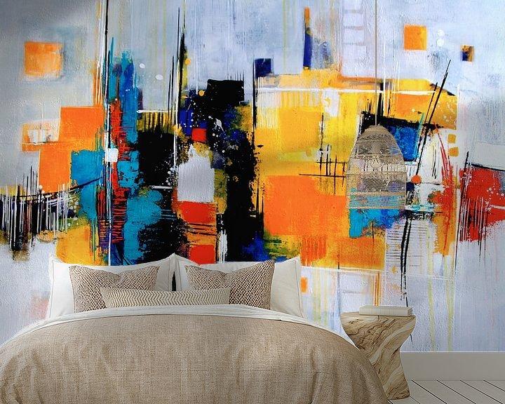 Beispiel fototapete: Farbklang Nr.2 von Claudia Neubauer
