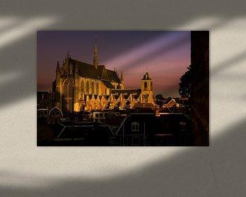 Hooglandse Kerk in Goud von M DH