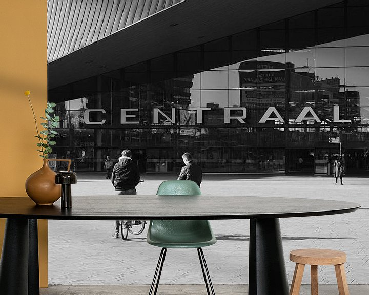 Beispiel fototapete: Rotterdam Hauptbahnhof von Paul Poot