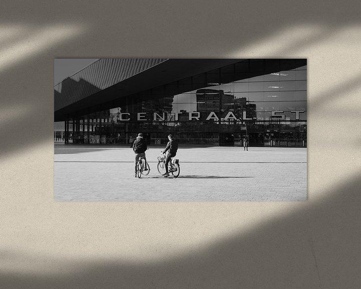Beispiel: Rotterdam Hauptbahnhof von Paul Poot