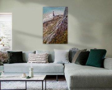 Vuurtoren Beachy Head van Rob Boon