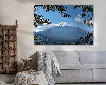 De berg Fuji van Melanie Jahn