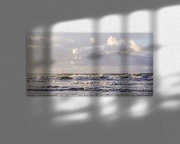 Golven op zee van Dirk van Egmond