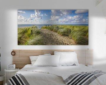 Strand, zee en zon in de zomer van Dirk van Egmond