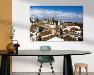 Obidos, Portugal van Katrin May