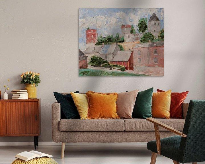 Beispiel: Chateau d'Hierges von Antonie van Gelder Beeldend kunstenaar