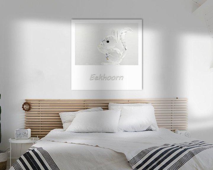 Sfeerimpressie: Eekhoorn van Erik Reijnders