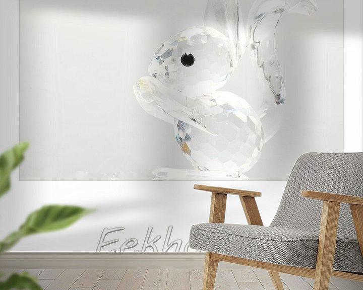 Sfeerimpressie behang: Eekhoorn van Erik Reijnders