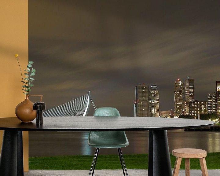 Sfeerimpressie behang: Skyline van Miranda van Hulst