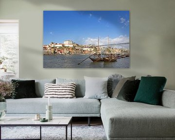Porto - Ribeira en Douro van Katrin May