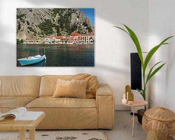 Omis, Kroatien von Katrin May
