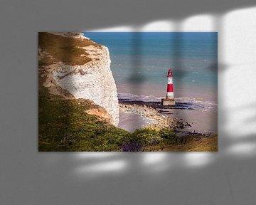Beachy Head vuurtoren van Rob Boon