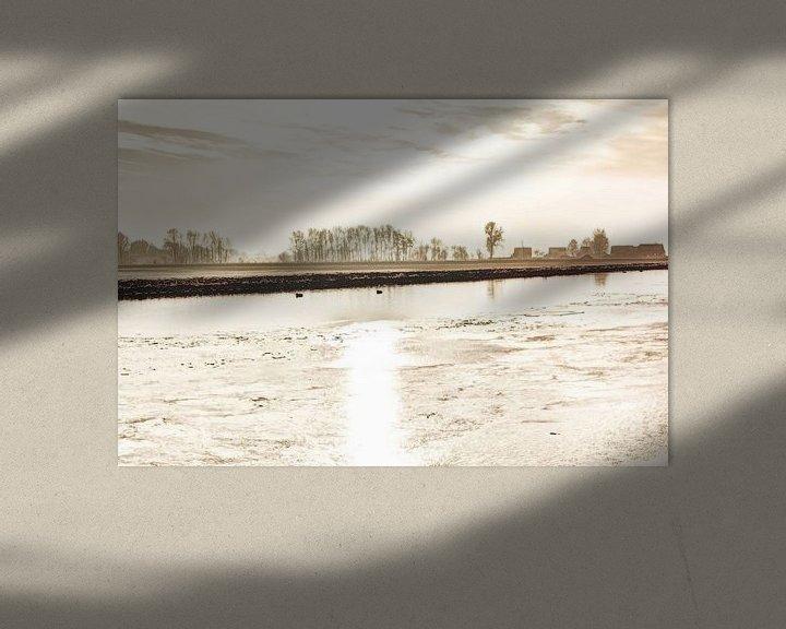 Sfeerimpressie: Kager Ader Polder Nederland van Hendrik-Jan Kornelis