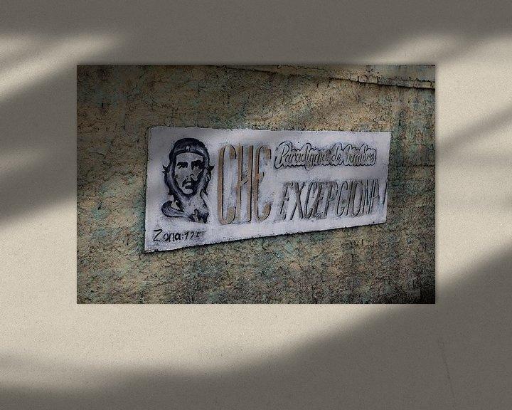 Sfeerimpressie: Che Guevara: uithangbord in Cuba van Kees van Dun