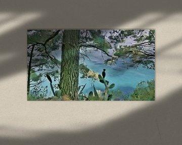 Amalfiküste - Positano von Schildersatelier van der Ven