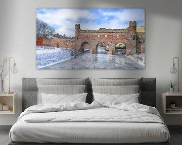 Winter in Zutphen van Willem  Bentink