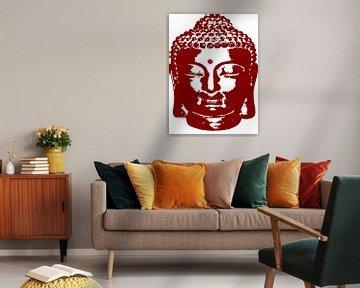 Buddha digitale Zeichnung von sarp demirel