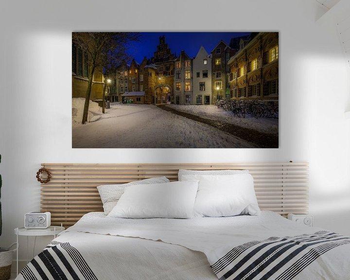 Beispiel: Sint Stevenskerkhof, Nijmegen Winterausgabe von Mario Visser
