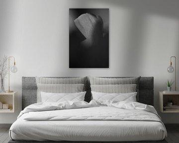 Tulpe in Schwarz und Weiß von Jurgen van Hest