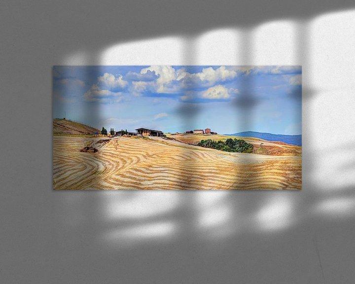 Sfeerimpressie: Toscane Panorama Landschap van Hendrik-Jan Kornelis