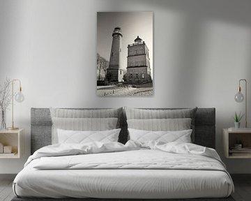 Kap Arkona Leuchttürme II von Kirsten Warner