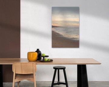 Winterstrand in Zandvoort von Christa Stroo fotografie