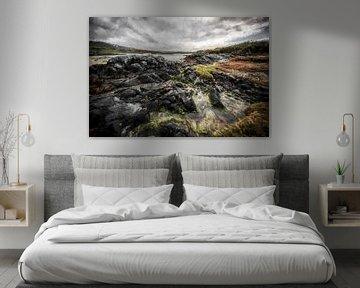 Paysage et mer d'Écosse sur Digitale Schilderijen