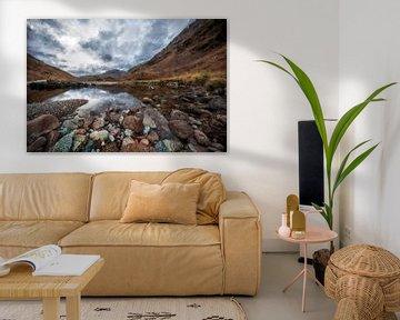 Le beau paysage de l'Écosse sur Digitale Schilderijen