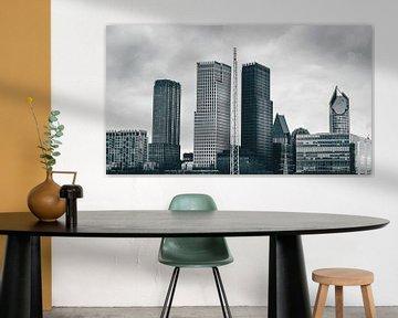 Skyline Den Haag van Sonny Vermeer
