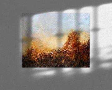 Sonne in den Bergen von Christian Carrette