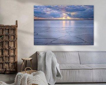 Bevroren zee van Leon Okkenburg